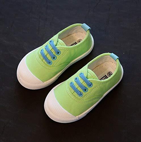 YOPAIYA Canvas Schuhe Frühling Herbst Kinder Candy Farben Kinder Schuhe Casual Jungen Mädchen Schuhe billig Baby Schuhe, 26.