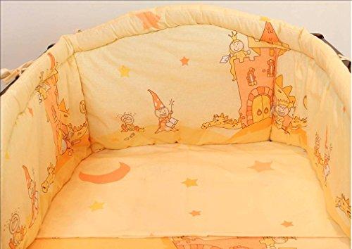 2 pièces Chambre d'enfant Parure de lit bébé Y Compris Taie d'oreiller et couette, Plus de 35 modèles en tailles pour lits de petite et grande Lit Bébé