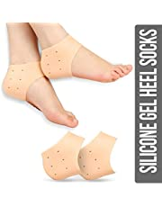 Ross Silicone Gel Heel Pad Socks for Pain Relief - 1 Pair