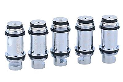 Aspire PockeX Verdampferköpfe- für das PockeX E-Zigaretten Set geeignet - 5 Stück pro Packung von Aspire