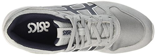 Asics Unisex-Erwachsene Shaw Runner Gymnastik Grigio (Light Grey/India Ink)