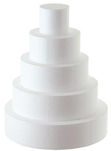 Sebutec Styropor-Torte Tortendummy 5-stöckig