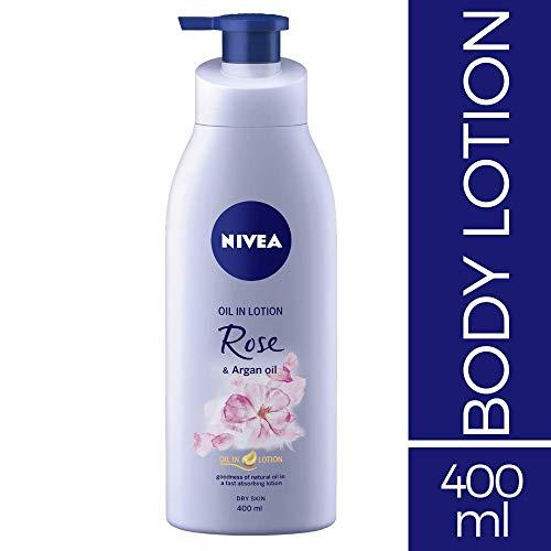 Nivea Rose And Argan Oil Body Lotion, 400ml