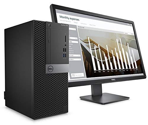 Dell Optiplex 3040MT Intel i3 6100 - Dell Optiplex 3040MT - Intel Core i3-6100, 18.5 Inch, 500GB HDD, 4GB, Win 10 Pro, Black