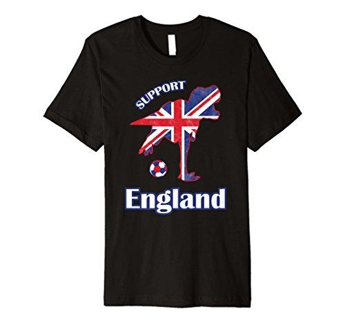 (Premium T-Rex Unterstützung 2018England Fußball Shirt für Jungen Fan)