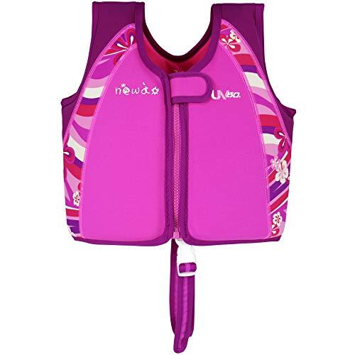 aa8a36fae4e6 WYTbaby Bambino Gilet per Nuoto Ragazzi Ragazze Giacca da Nuoto Giacche in  Neoprene Galleggiante Costumi da