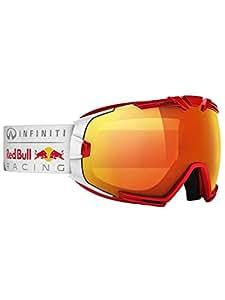 Redbull - Masques de ski snowboard - Rascasse - Lunettes Homme - Red/white Fire race - Lunettes de Soleil