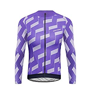 Future Sports UGLYFROG Bike Wear Hombres Invierno Térmico Ropa de Ciclismo Bicicleta Conjunto Traje de Ropa Deportiva Jersey de Manga Larga + Pantalones Respirable Secado Rápido/Bodies