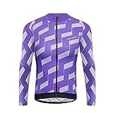 Uglyfrog Fahrradbekleidung Langarm Radtrikot Outdoor Radsport Gemütlich Radkleidung Trikot Jersey Fleece Winter Warm Top