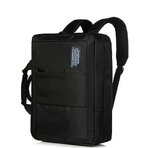 2 en 1 sac dos transformable en sacoche pour ordinateur portable de 14 15 6 39 39. Black Bedroom Furniture Sets. Home Design Ideas