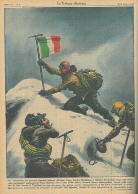 In Venzuela tre alpinisti italiani scalano il Picco Bolivar alto 5.080 metri.