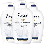 Dove Deeply Nourishing and Moisturizing Handwash, 3 x 500 ml