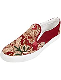 Dry Men's Synthetic Slip-on Party Sneakers