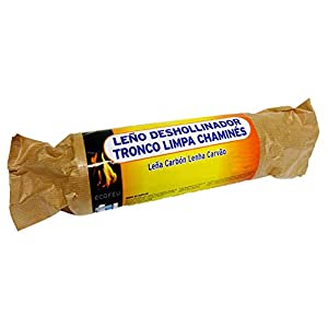 Ecofeu 8779-12 Leño Deshollinador 900 gr