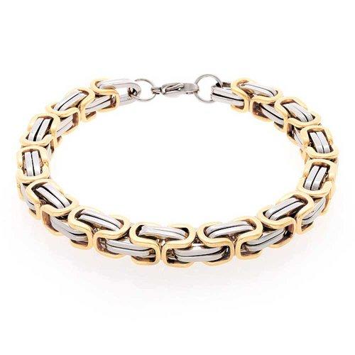 Bling Jewelry 8 millimetri Stile Meccanico Mens