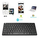 Rii BT09 teclado Bluetooth para Apple und PC , Windows 7 + 8,Linux,Mac OS X,Notebook,Laptop,Netbook,Mac Book,Tablets,Apple iPad,Samsung Galaxy Tab2,Galaxy Note,Smart Phones,Android,Iphone