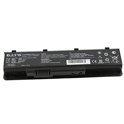 BLESYS 4400mAh ASUS N45, N55, N75, série batterie d'ordinateur portable Compatible avec A32-N55, A32-N45