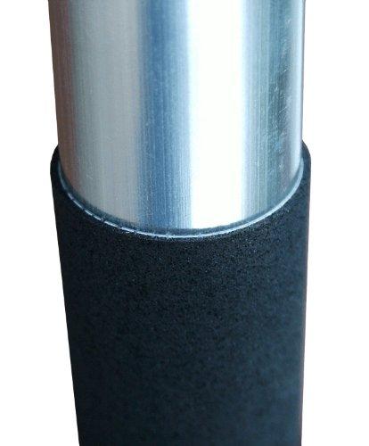 Schneeschieber Silver Maxx Alu mit Edelstahlkante und Thermogriff - 3