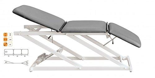 Preisvergleich Produktbild C-710 Therapieliege elektrisch verstellbar 56 - 91 cm 3-teilig ohne Gesichtsloch,  Farbe Bezug:Nr. 71. pastellviolett