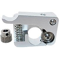 Redrex MK8 MK10 Extrusora Aluminio Aleación Mano Izquierda 1,75 mm Filamento Alimentador 26 Dientes Conductor Engranaje Extrusión de Makerbot Reprap Prusa i3 Rostock Kossel Impresora 3D