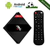 [3GB + 32GB] H96 Pro Plus Android 7.1 TV Box Amlogic S912 Octa Core 64bits CPU,Smart TV Box con Control Remoto Soporte Real 4K/Ultra HD/3D/H.265/Dual WiFi 2.4GHz + 5GHz/1000M LAN/Bluetooth 4.1
