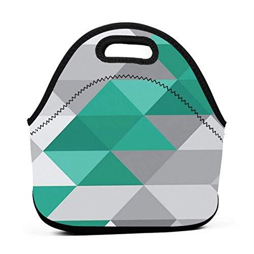 Mercedes Amg Petronas F1 Geometric Print Print Männer Frauen Isolierte Lunchpaket Tote Mehrweg Lunchpaket Für Arbeit Picknick Schule