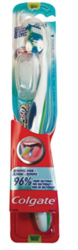 Price comparison product image Colgate Toothbrushes 360 Degrees Compact Head Medium