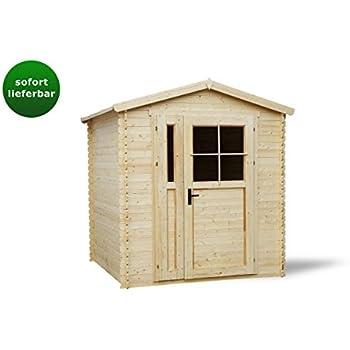 Gartenhaus CINZIA aus Holz 220 x 180(H) CM: Amazon.de: Baumarkt