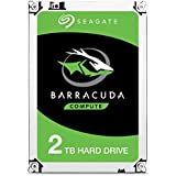 Seagate 2 TB BarraCuda 3.5 Inch Internal Hard Drive (7200 RPM, 256 MB Cache, SATA 6 Gb/s, Up to 220 MB/s, Model: ST2000DMZ08/DM008)