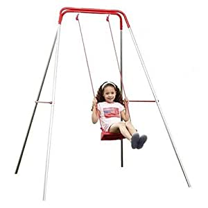 Deluxe Single Swing with Galvanised Frame