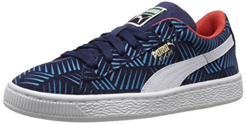 Puma Goefetti Daim Baskets Peacoat-Blue Jewel-White
