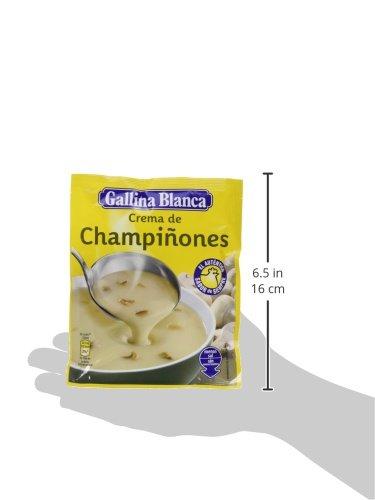 Gallina Blanca - Crema De Champiñones, 62 g - [Pack de 24]