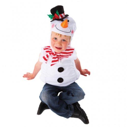 Christys costume carnevale frosty pupazzo di neve olaf frozen disney, bambino, 4/7 anni