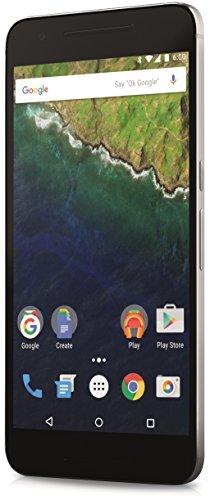"""Huawei Nexus 6P – Smartphone de 5.7"""" (SIM única, Android, NanoSIM, EDGE, GSM, UMTS, WCDMA, LTE), color plata"""