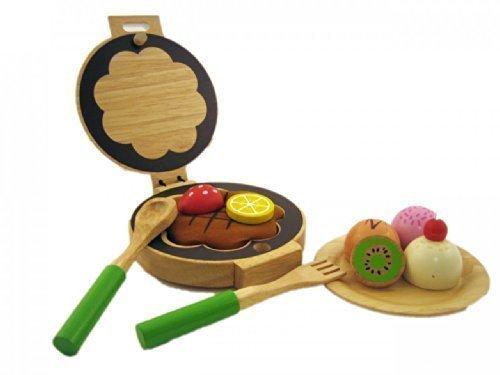 Preisvergleich Produktbild Waffeleisen - Set für Kinderküche Holz 640073