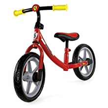 Chicco Ferrari Kids Balance Bike, Puncture Protection Wheels, Ultralight Metal Frame, Adjustable Handlebar and Seat, Soft Seat, 85 x 60 cm