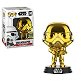 Star Wars Funko - 37653 Chrome Stormtrooper - 2019 Galactic Convention - Vinyl Figur, 9cm (UK Exclusive)
