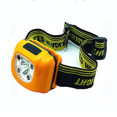 asserdichte LED-Sensor-Scheinwerfer Langstrecken-Lithium-Batterie Angeln Lichter Im Freien Tragen Taschenlampe ()