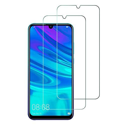 Widamin 2Pack, Compatible Con Huawei P Smart Plus 2019 Panzerglas, Bildschirmschutzfolie, Hohe Auflösung Glas,[9H Härte], [Crystal Clearity], [Kratzfest], [No-Bubble] für Huawei P Smart+ 2019