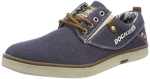 Dockers by Gerli Herren 38se017-797600 Sneaker Blau (Blau 600)