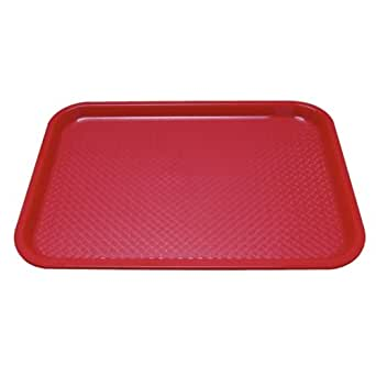 Kristallon DP213 Tray, Red
