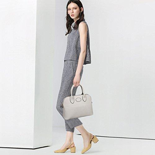 Grau Schultertasche Umhängetasche NEW DORIS PU NICOLE 3 Handtasche Messenger Frauen Damen bags Schwarz x6qI7p