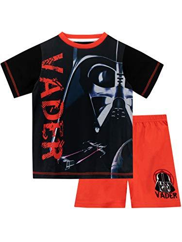 Star Wars Jungen Darth Vader Schlafanzug Rot 140