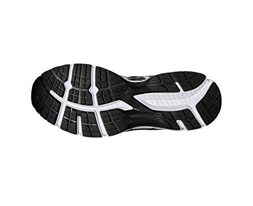 ASICS Gel-Oberon 10 Chaussure De Course à Pied - SS16 Noir/Argent