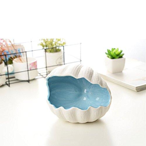 Kreative Ocean Shell Keramik Aschenbecher Marine Dekoration Kreative Persönlichkeit Luxus Geschenk (Ocean Aschenbecher)