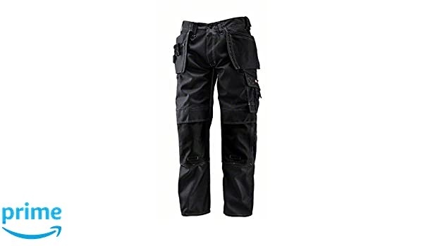 Manufacturer size: C52 Anthracite W36 Bosch WHSO 18 Professional Waist 36 Shorts with Holster Pockets