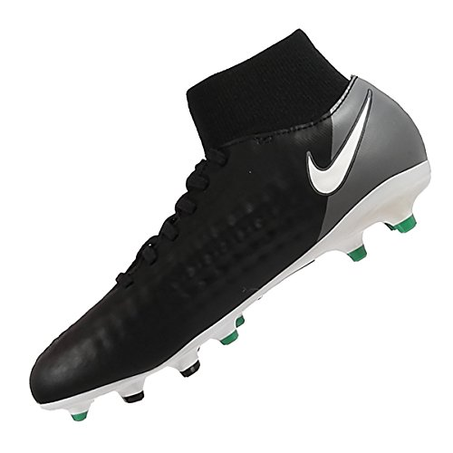 Nike JR MAGISTA ONDA II DF FG BLACK/WHITE-COOL GREY-STADIUM
