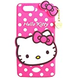 Rapid Zone Cute Hello Kitty Back Cover For Oppo Neo 5 - Pink