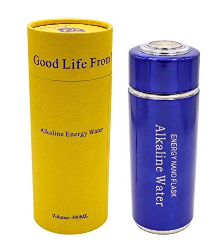 Alkaline Wasserflasche, Alkaline Water Flask - Blau / Blue 380 ml