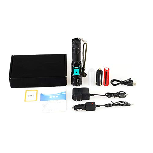 HshDUti Kreativ Multifunktional Kraftvoll Taschenlampen, Wiederaufladbare LED Taschenlampe USB Ladegerät Flashlight,Geeignet zum Ausgehen Gehen 2